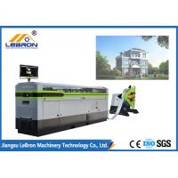 Buy cheap Prefabricated House Roll Forming Machine White Color Light Gauge Steel Framing from wholesalers