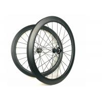 Quality Hand - Built Carbon Racing Bike Wheels 50MM Road Disc 700C Racing Cycling for sale