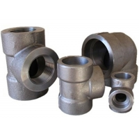 Quality Ansi B16.11 3000 Lbs Swe Equal Tee A105 Forged Steel Fittings for sale