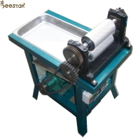 Quality Electric Roller Beeswax Foundation Machine Aluminum Alloy for sale