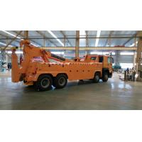 Quality 8x4 Wheels 420 horsepower 3 sections boom any color 100 tons wrecker tow truck for sale