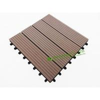 Quality Garden Tiles For Sale, WPC Outdoor decking For Garden, easy Installation wpc decking tiles, 300x300mm for sale
