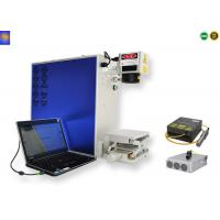 China CNC Portable 3D Fiber Laser Metal Engraving Marking Machine For Gold Silver Jewelry on sale