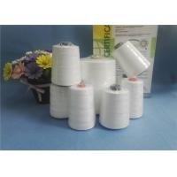 Quality Eco - Friendly Raw White 100% Spun Polyester Yarn 10S/2 10S/ For Bag Closing for sale