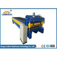 Buy cheap Blue Color Glazed Tile Roll Forming Machine Siemens PLC Control Full Automatic from wholesalers