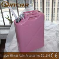 Buy cheap Durable 5L 10L 20L Fuel Petrol Metal Jerry Can For Storage With Flexible Spout from wholesalers