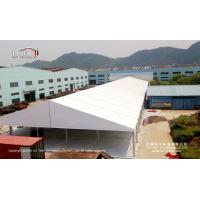 China 25x100m Big Industrial Tent Structures With Double - Wing Glass Door on sale