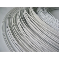 Quality Copper 0.04mm Polymer Coated Wire For Agriculture White PET Nylon Coating for sale