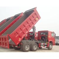 Buy Sinotruk HOWO ZZ3257M3857A 30T Load STR Axle 6x6 Tipper Truck Hyva Dumper Truck at wholesale prices