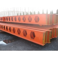 Quality Welders Processed Honeycomb Steel Beam Fabrication Service Custom Structural Metal for sale