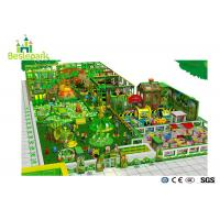 Buy cheap Large Jungle theme kids indoor playground equipment with a section_off Area from wholesalers