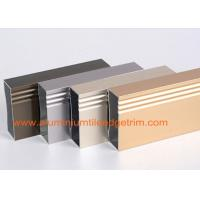 Quality Anodized 6063 - T5 Aluminum Extrusion Profiles Rectangular Hollow Shaped for sale