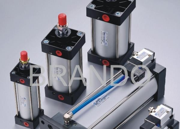 Buy Pneumatic Cylinder Valve , Pneumatic Air Cylinder Assembled ISO6431 ISO15552 Standard at wholesale prices