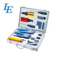 Buy cheap LE-K4015 Network Wiring Tools Kit Set Of Crimp Punch Strip Cut Tool Tester from wholesalers