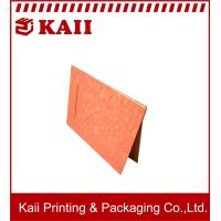 China Red Promotional Magnetic Cardboard Photo Frame / Cardboard Photo Frame / Cardboard Frames For Photos on sale