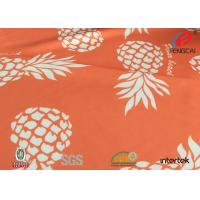Quality digital printing lycra polyester spandex fabric with your own design for sale