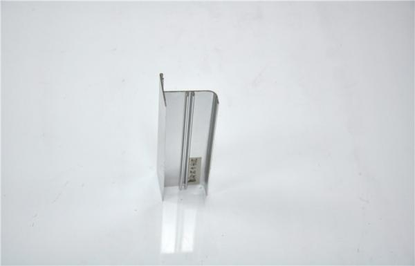 Buy 6063-T5 Silver Polishing Aluminium Extrusion Profile For Decoration at wholesale prices