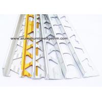 Quality Pre Polished Bright Chrome L Angle Aluminium Tile Edge Trim 6mm / 8mm / 10mm  / 12mm for sale