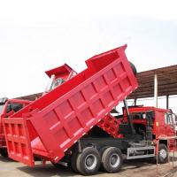 Quality Heavy Tipper Truck 6x4 30T LHD Commercial Dump Truck SINOTRUK HOWO ZZ3257N3447A Single Berth For Mining for sale