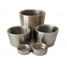 Buy cheap 3000lb Stainless Steel Half Coupling NPT Female X Plain Coupler Threaded from wholesalers