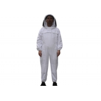Quality Cotton And Terylene Beekeeping Protective Suit With Fencil Veil for sale
