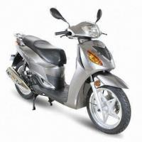 Quality Moped Scooter with 85kph Maximum Speed, 16-inch Wheel and 125cc Rated Displacement for sale