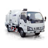 Quality Pure Electric Control Garbage Compactor Truck 4.3cbm Gas Heating for sale