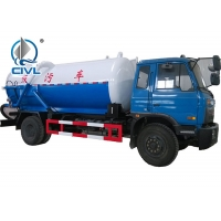 Quality EURO II Emission 290hp Sewage Suction Truck HOWO 12000liters Sewage Suction Truck Price For Sale for sale