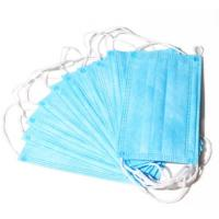 Quality High Elastic Earloop 3 Layer Face Mask , Non Woven Disposable Mask  Breathable for sale