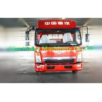 Quality 120HP HOWO Light Duty Commercial Trucks , Flatbed Cargo Truck 4X2 , Color Can Be Selected for sale