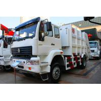 Quality Sinotruk SWZ Garbage Compactor Truck , Rear Loader Garbage Truck for sale