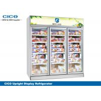 Integrated Upright Display Refrigerator , Upright Glass Door Refrigerator