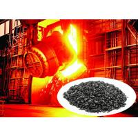 Quality Black High Hardness Graphite Recarburizer For Steel And Iron Plant Using for sale