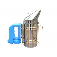 Quality American Type Electrical Bee Smoker  M  Size with Dark Bule Handle of Bee Hive Smoker for sale