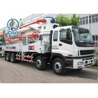 Quality 16m3 Cement Pump Truck 8850 × 2380 × 3500mm 180w 1700 / 3400mm Wheelbase for sale