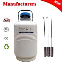 China China Cryogenic Tank 10L Storage Liquid Nitrogen Gas Cylinder TIANCHI Manufacturer on sale