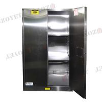 Buy cheap 90 GAL Grounding Hazardous Waste Storage Cabinets For Flammable Materials Goods from wholesalers