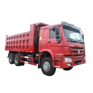 Quality 25 Ton Heavy Duty Dump Trailer / 6x4 Howo Dump Tipper Truck Euro 4 5 for sale