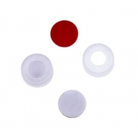 Buy cheap Reduced Contamination 11mm Autoclavable Pre Slit Vial Septa from wholesalers