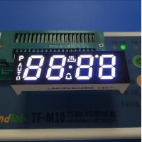 Buy cheap Ultra White Custom LED Display , Seven Segment Display Common Anode For Oven from wholesalers