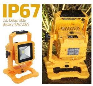 China IP67 10W New Arrival Transformer LED Portable Flood Light on sale