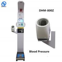 Buy cheap Bluetooth Height And Weighing Scale With Body Fat Analyzer Voice Broadcast And from wholesalers