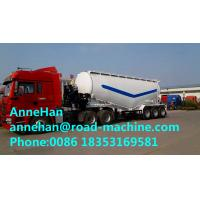 Buy cheap 50M3 Bulk Cement Semi Trailer Trucks with 3 Pcs 13T Fuwa Brand Axles and Weichai from wholesalers