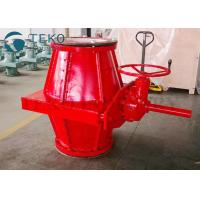 Buy cheap Epoxy Coating Body Packing Gear Slurry Pinch Valve For Water Plant Less Zero from wholesalers