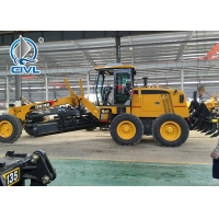 Quality White / Yellow 11000KG Motor Grader 136HP Engine Tractive Force 61.3KN CVGR135 Grader  Road Machinery for sale