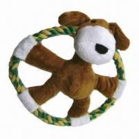 Quality Rope pet toy, made of natural cotton yarn, various multicolor/sizes available, Azo-free/EN 71 mark for sale