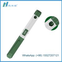 Buy cheap Customized Disposable Insulin Pen With 3ml Cartridge In Green Color from wholesalers