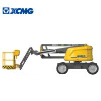 Buy 14m Electrical Articulated Aerial Work Platform , Yellow Extensible Boom at wholesale prices
