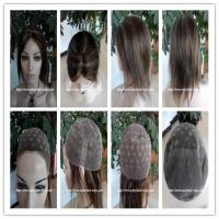 Quality Human hair full lace wig  10-26L 4#/27#color Straight indian remy hair,120%-180% density for sale