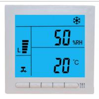 Buy cheap large LCD digital temperature & humidity thermostat, wired controller,control from wholesalers